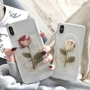 NEW iPhone 11/Pro/Promax/XR/7/8Plus rose case